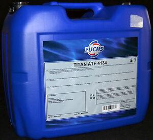 20 litros fuchs titan atf 4134 mb mercedes. Black Bedroom Furniture Sets. Home Design Ideas