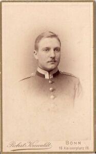 CDV-Foto-Soldat-Bonn-1880er