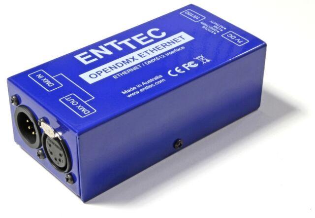 ArtNet to DMX ENTTEC Open ODE 70305 Ethernet Controller 512 Ch - No Reserve