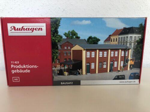 Spur H0 Auhagen 11423 Bausatz Produktionsgebäude  Neu OVP