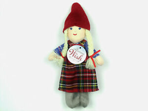 The-Christmas-Wish-Book-Character-ANJA-Cloth-PLUSH-DOLL-Scandinavian-NEW-W-Tag