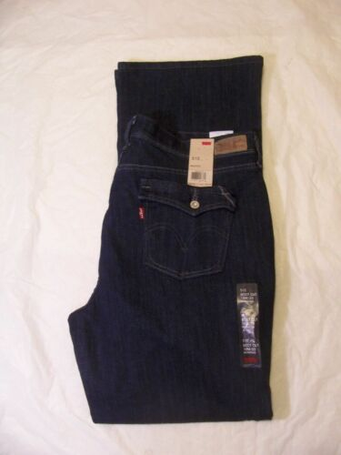 Boot Cut 515 Farve Tag Brand Levis 552650012 Denim Flap Jeans New Dark Med dtEAAqw