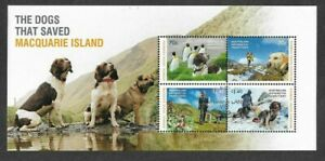Australian Antarctic Territory-The Dogs that Saved Macquarie Island m/s fu/cto