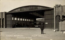 Croydon Aerodrome. Continental Air Port # 20061 G by C.H.Price. Airport.
