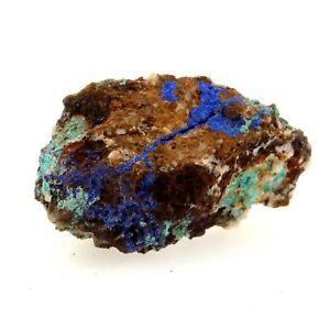 Isère France Rare Malachite 21.04 Ct Col The Baker Azurite