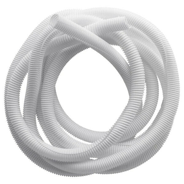 New Ikea Cable Tidy Flexible Cable Tube Dust Accumulating & Organizer White 5 m