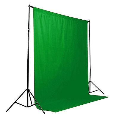 6 x 9 ft Green Screen Muslin Backdrop Photo Studio Photography Background Green