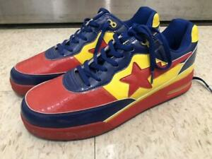 aaf6f907 A BATHING APE Roadsta Dc Comic Superman Us12 Bapesta Men 12US from ...