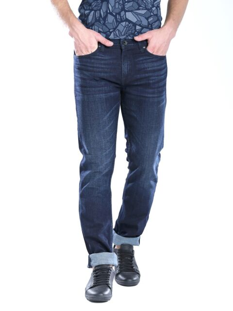 Guess Slim Straight Leg Jeans Men/'s Size 32 X 32 Classic Distressed Wash