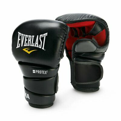 Everlast Protex2 Universal Training Gloves MMA Grappling Striking Gloves L//XL