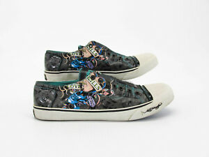 Image Is Loading Ed Hardy Love Kills Slowly Men Skate Sneaker