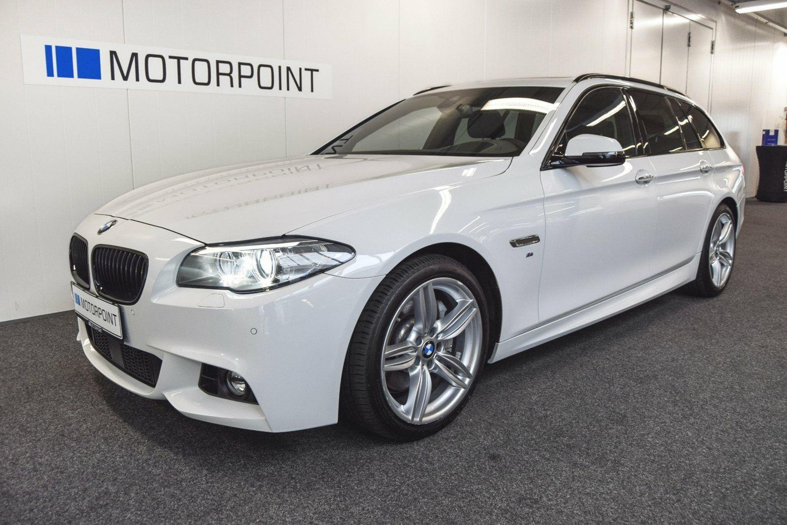 BMW 525d 2,0 Touring M-Sport aut. 5d - 499.900 kr.