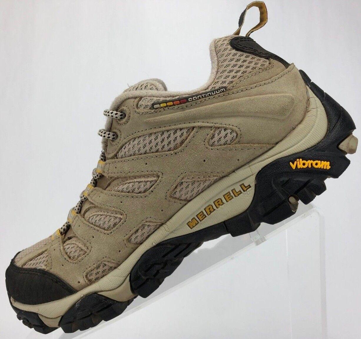 Merrell Moab Ventilator All Terrain Trail Hiking Walking Sneakers Womens 8 Taupe