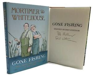Signed-Book-Mortimer-amp-Whitehouse-Gone-Fishing-Bob-Mortimer-amp-Paul-Whitehouse