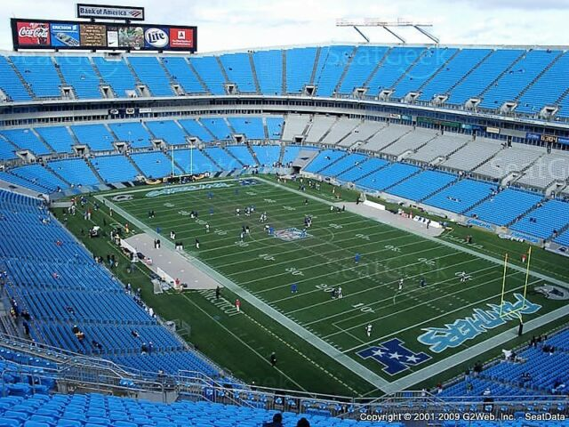 Carolina Panthers vs Baltimore Ravens, 10/28/18, 2 Tickets on Aisle, email deliv