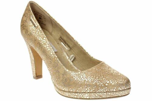 Bugatti Haven-Chaussures femmes Escarpins-v7962-pr6n 804-Gold