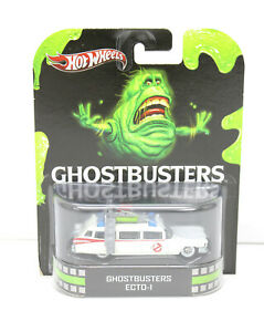 Hot Wheels 2012 Ghostbusters ECTO-1 Retro Entertainmentb New In Package
