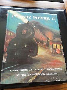 PENNSY-POWER-II-PENNSYLVANIA-RAILROAD-TRAINS-LOCOMOTIVES-1968-ALVIN-STAUFER-BOOK