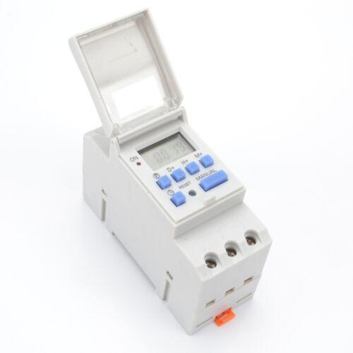 Digital LCD DIN Programmierbarer Weekly Rail Timer Zeitrelais-Schalter