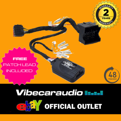 Peugeot 207 307 407 807 308 Tallo Adaptador De Control Del Volante Ctspg 008.2