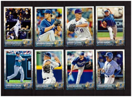 2015 Topps KANSAS CITY ROYALS Team Set Series 1 /& 2 with updates 38 cards