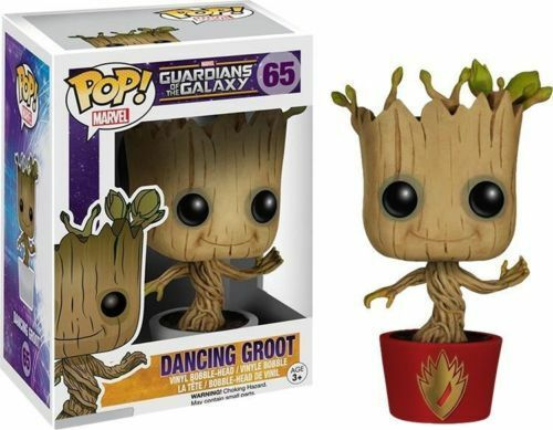 Marvel Ravagers Tanzende Groot Guardians Of Of Of The Galaxy Vinylfigur Pop Exclusiv 88b1cc
