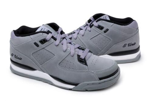Reebok Boy/'s Shoes GXT 72-140344 Carbon Black Grey G Unit Casual Sneakers