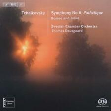 Tchaikovski Filarmonica 6 pathetique-Dausgaard, Swedish Chamber Orchestra SACD