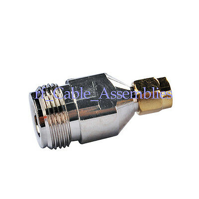 SMA-N adapter SMA Plug to N-Type Female Jack straight RF Coax Adapter Connector