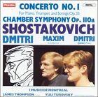 Shostakovich: Concerto No. 1, Op. 35 (CD, Mar-1985, Chandos)