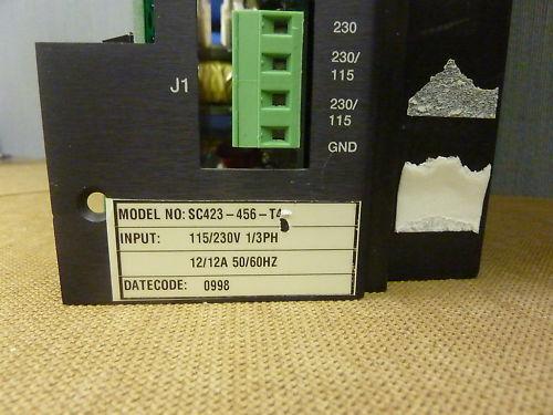 Pacific Scientific Servo Control SC423-456-T4 115//230V 3710