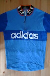 Image is loading Retro-Cycling-Jersey-Vintage-Cycling-Jerseys-Adidas -Genuine- b064f25b0