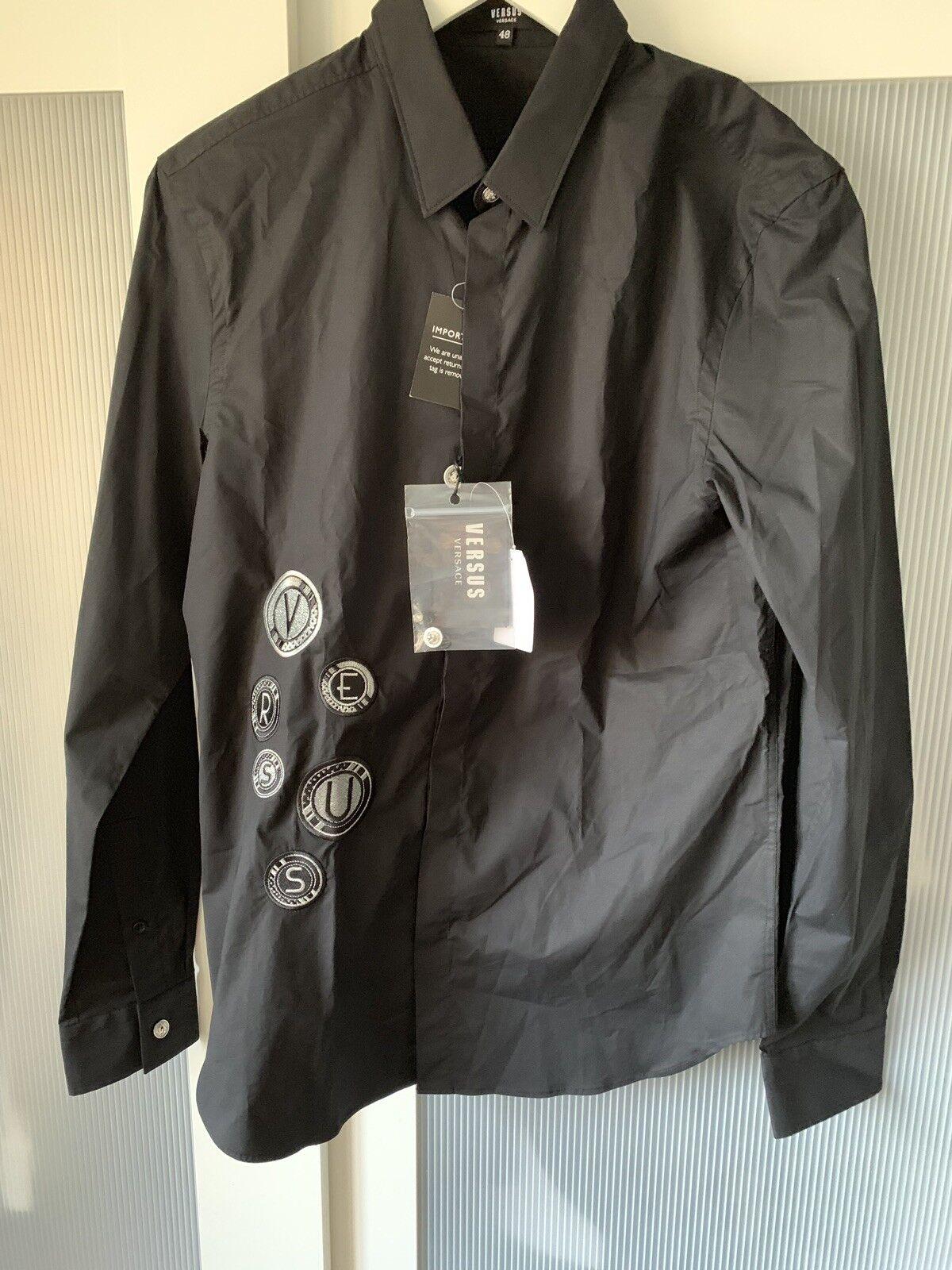 18ea34ea Versace men shirt size M 100% authentic ultra rare top Versus okfhrj12819- T-Shirts