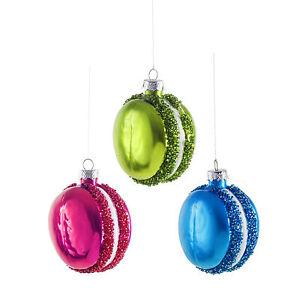 Three-Bright-Macaron-Glass-Bauble-Christmas-Tree-Decorations-Purple-Green-Blue