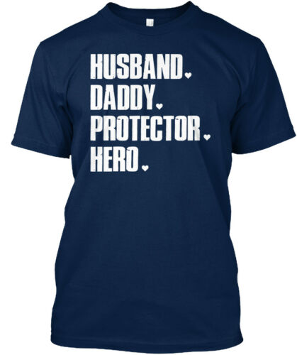 Daddy Protector Hero Standard Unisex T-shirt Comfortable Husband Dad Gift