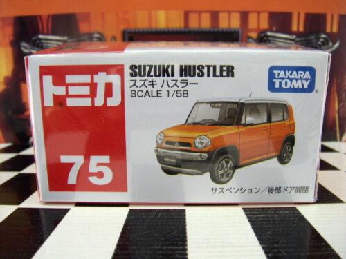 TOMICA #75 SUZUKI HUSTLER 1//58 SCALE NEW IN BOX