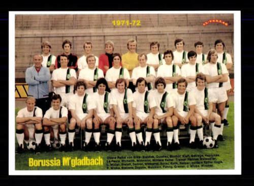 Borussia Mönchengladbach Mannschaftskarte 1971-72