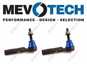 Set of 2 Outer Steering Tie Rod End fits 2010 Chevrolet Traverse for Left /& Right Side