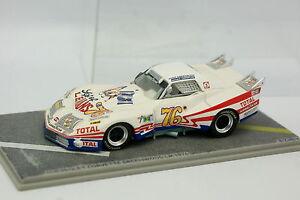 Bizarre-Resine-1-43-Chevrolet-Corvette-Greenwood-Le-Mans-1976-N-76