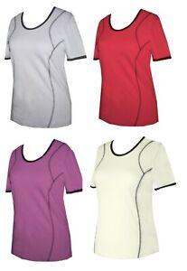 Schneider Sportswear Damen Shirt Pulli T-Shirt Sportshirt Freizeitshirt Gr. 40