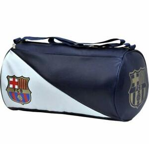 Leather Sports Duffle Gym For Men Blue Color Comfortable
