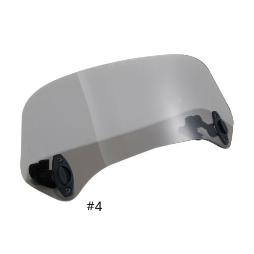Universal Windshield Extension W// Clamp Spoiler Wind Deflector protection
