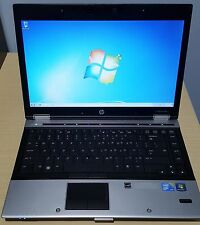 "HP Elitebook 8440p 14"" Laptop Core i5- 2.5 Ghz # 4 Gb Ram # 250GB HDD # Win7 Pro"