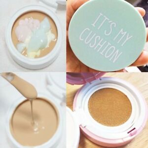 Details About Its My Cushion Case Diy Bb Cushion Pact Cosmetic Case With Sponge Internal Case