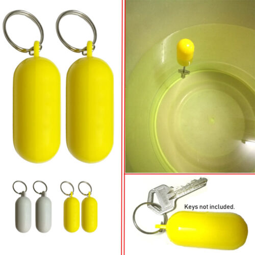 Floating Key ring Float Canal Keychain Fender Buoyant holder Rowing Boats Tool❤