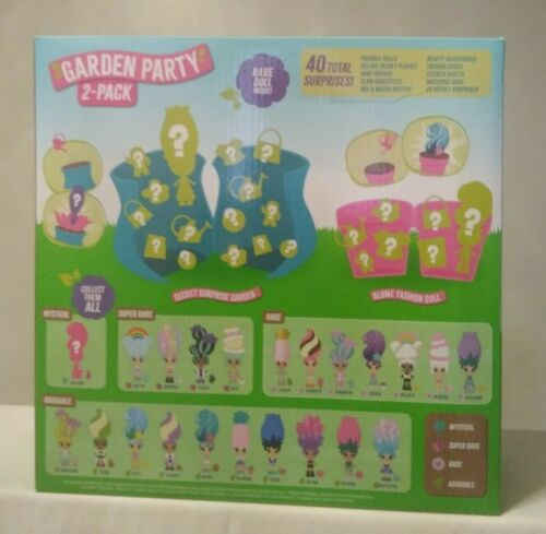 Blume Garden Party 2 Pack Secret Surprise Garden And Mystery Pack New And Sealed