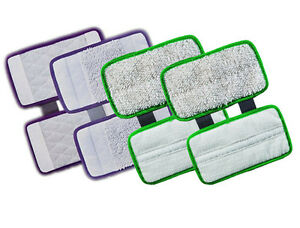 4 Replacement Carpet Cleaning Hard Floor Pad Scrub For