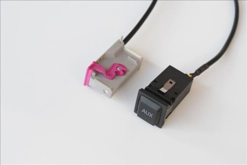 For Audi Navigation RNS-E A8 TT R8 A3 A4 A6 AUX Socket Jack adaptar 32-pin cable