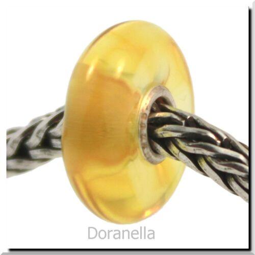 1 Authentic Trollbeads Amber 71002 Honey Dew