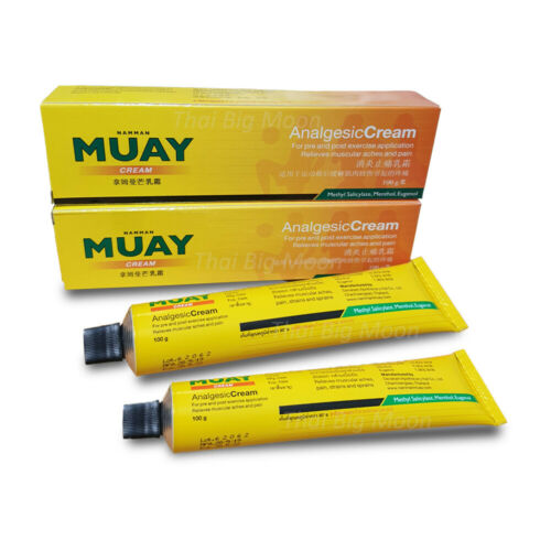 Namman Muay Thai Boxing Analgesic Cream Relief Muscular Aches Pain 100g x 2